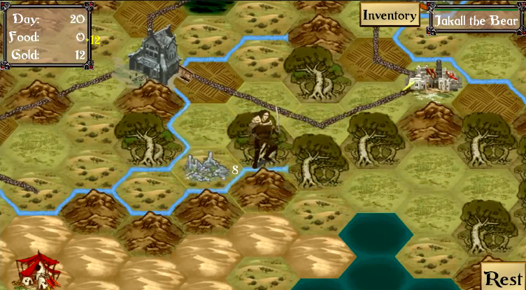 Take to the old school hexagonal battlefield with Road of Kings for iOS and Android