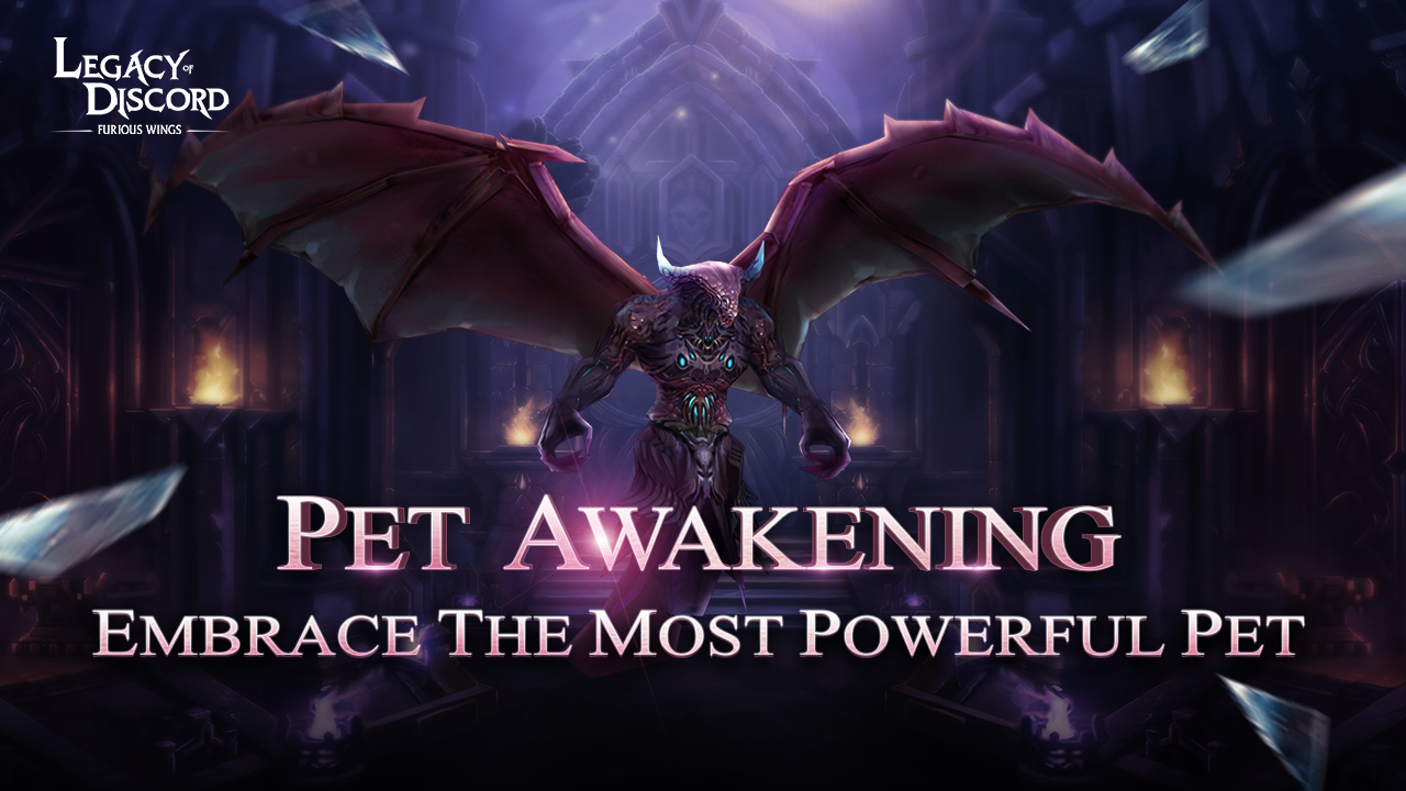 The ins and outs of Legacy of Discord's new pet awaken system