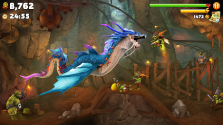 Hungry Dragon is the follow up to Ubisoft's insatiable Hungry Shark