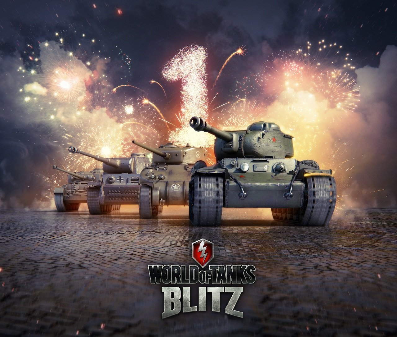 World of Tanks Blitz is celebrating its first anniversary with free tanks for all players