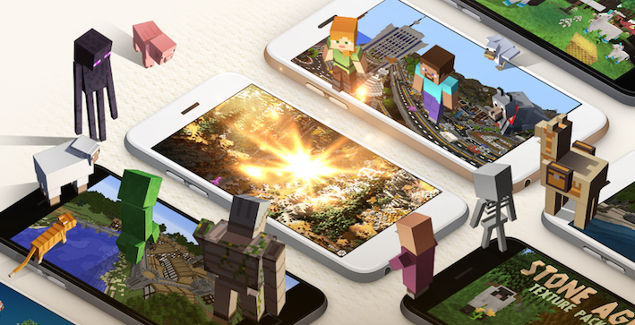 Discovery Update and a community Marketplace will soon be coming to Minecraft: Pocket Edition/Windows 10