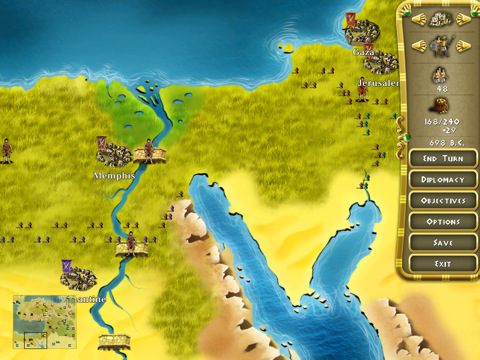 HISTORY Egypt: Engineering an Empire marches onto iPad