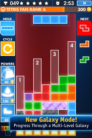 [UPDATE] EA sneaks out re-imagined version of Tetris for iPhone and iPad with two new modes - Tetris Galaxy and One-Touch Marathon