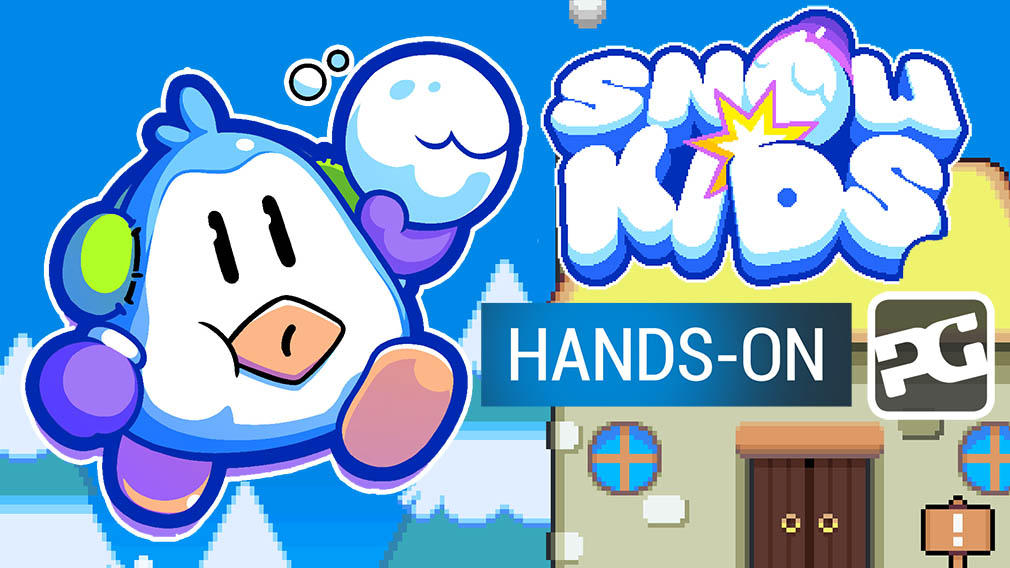 "Snow Kids hands-on video - ""Kirby and Mario inspire this frosty platformer"""