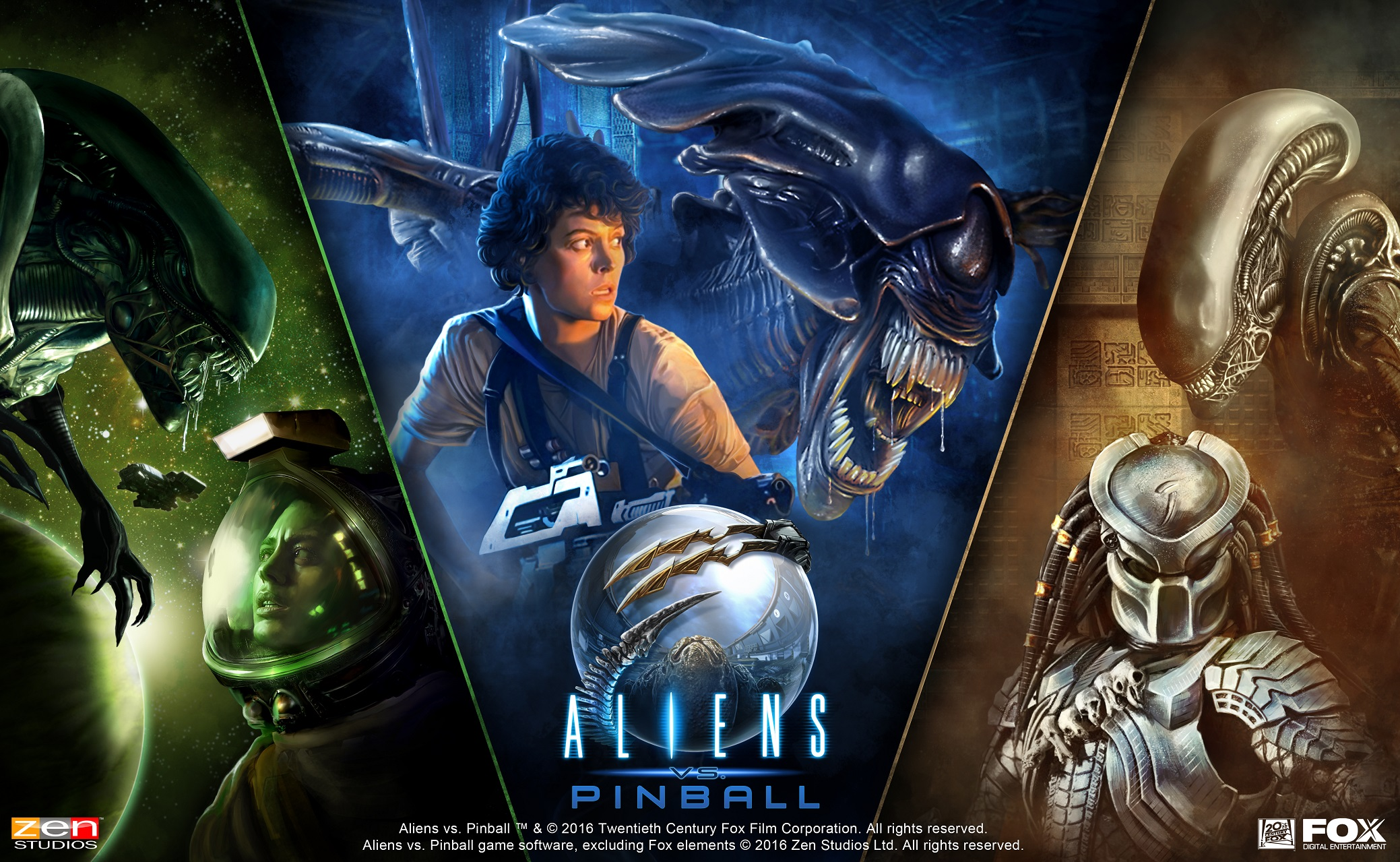 [Update] Zen Pinball 2 is adding yet another major franchise, Aliens tables out now