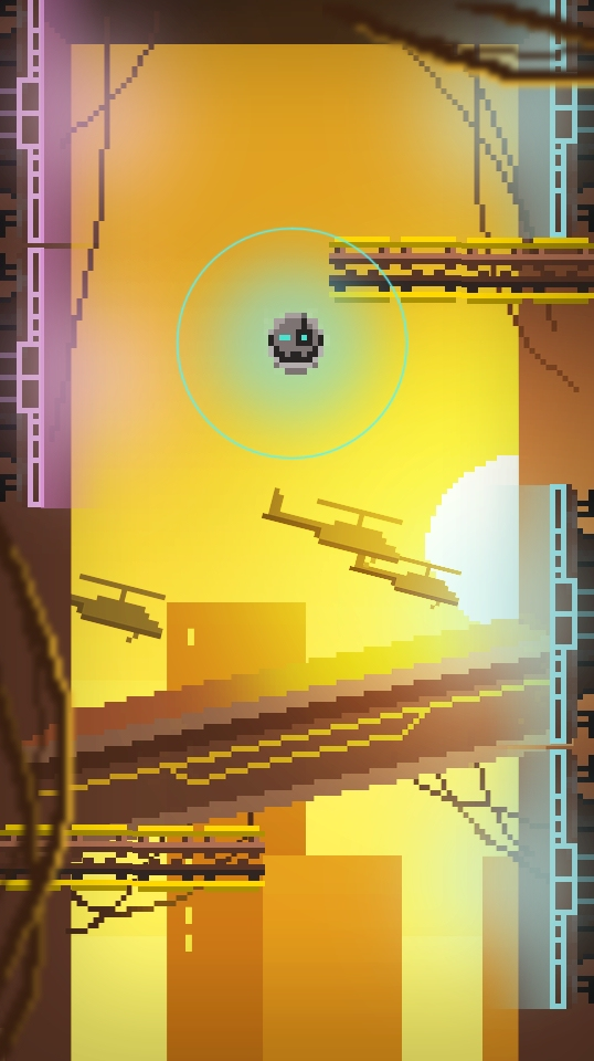Magnetoid is a frantic endless runner that lets you destroy the world if you can keep up