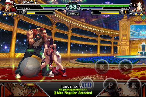 SNK Playmore's 2D iPhone beat-'em-up The King of Fighters-i- gets knocked down to £2.49 / $3.99