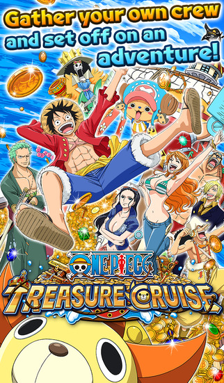 One Piece Treasure Cruise released in the west on iOS and Android after its huge success in Japan