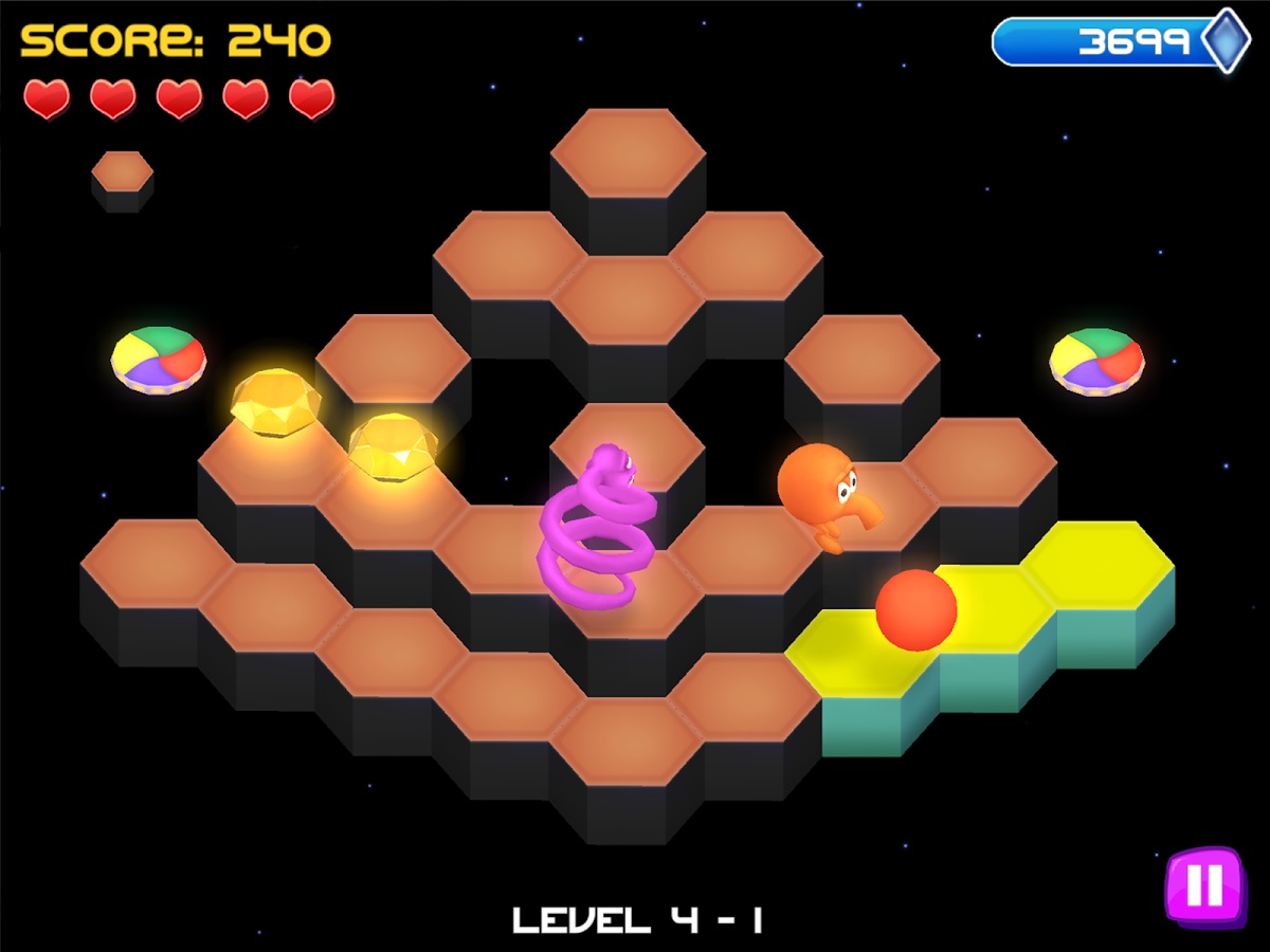 Q*bert: Rebooted on its way to PS Vita and other Sony consoles