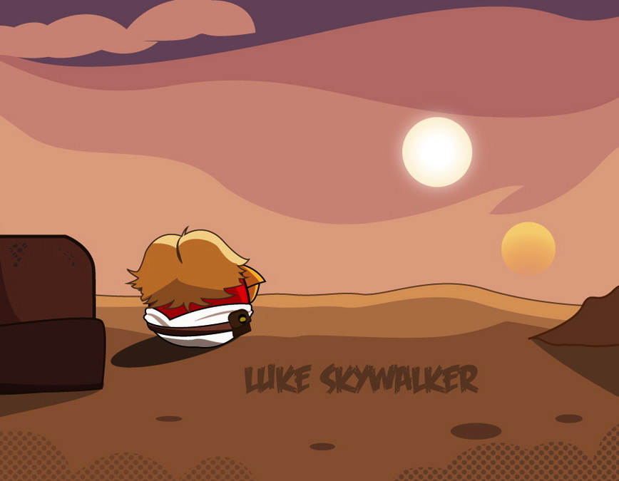 Angry Birds Star Wars fan art round-up