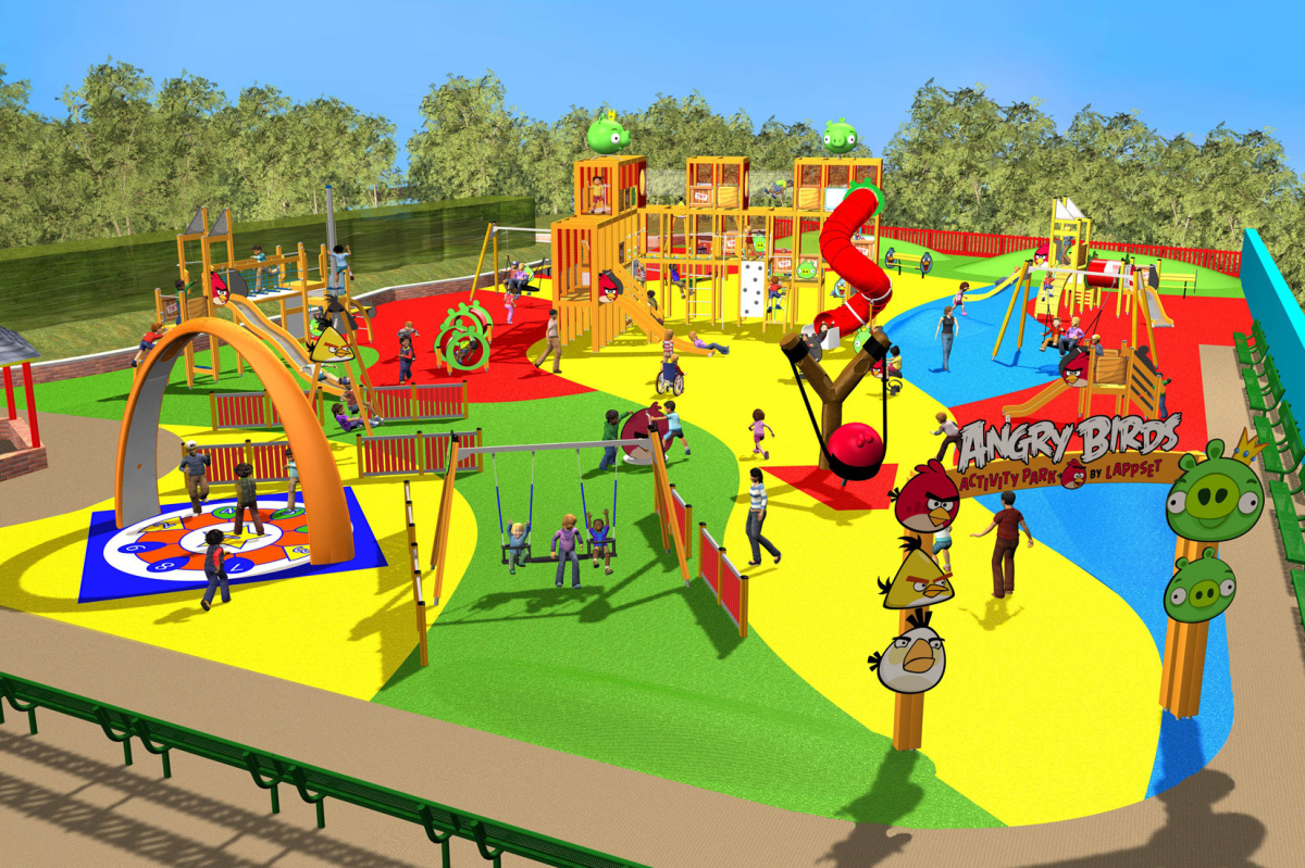 UK's first Angry Birds theme park announced
