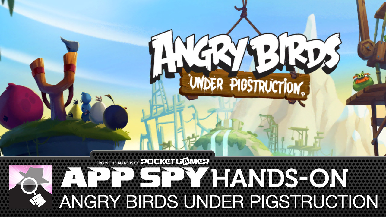 Angry Birds Under Pigstruction feels like a return to form for Rovio's iconic avians