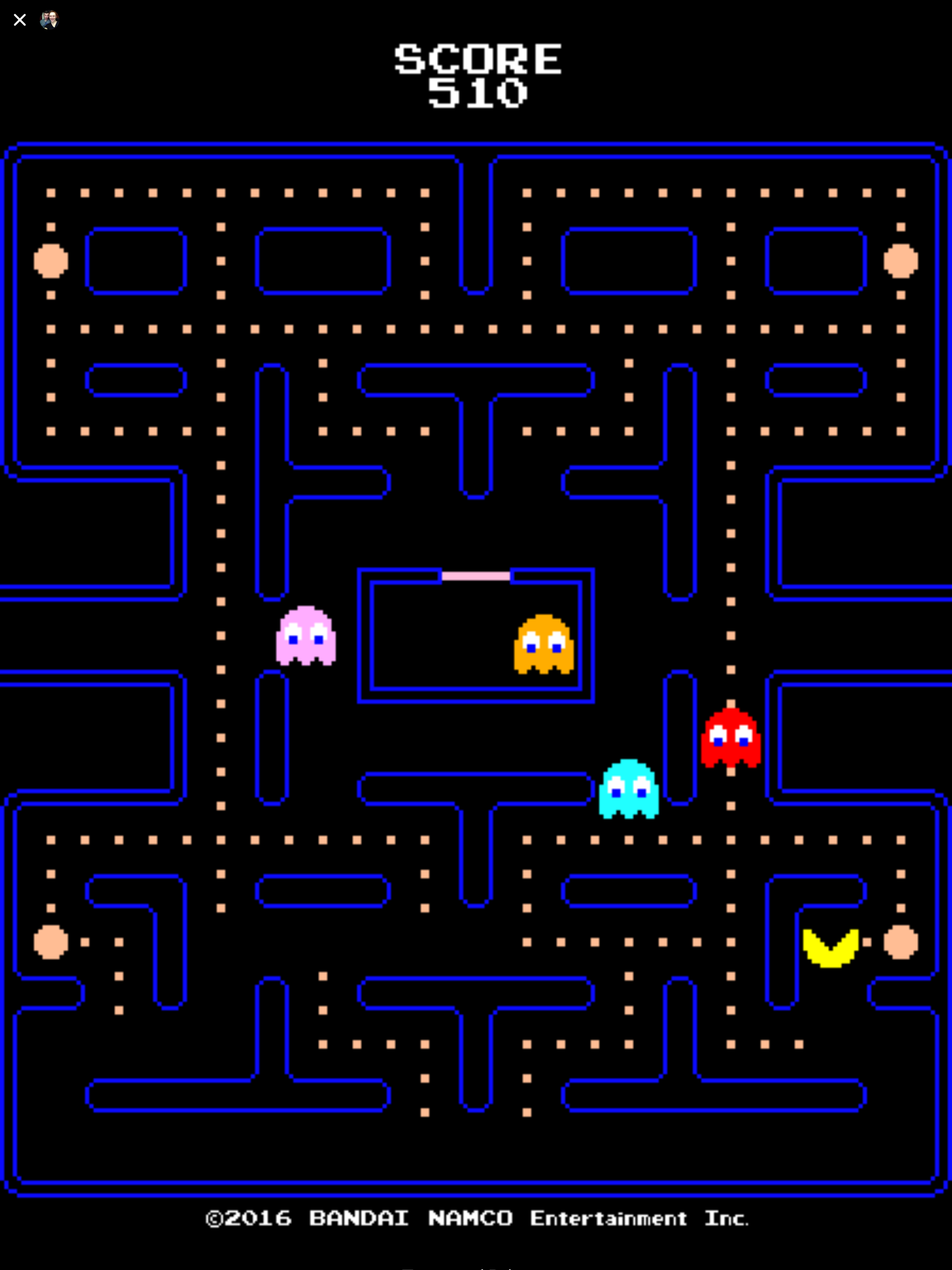 Pac-Man Facebook Messenger review