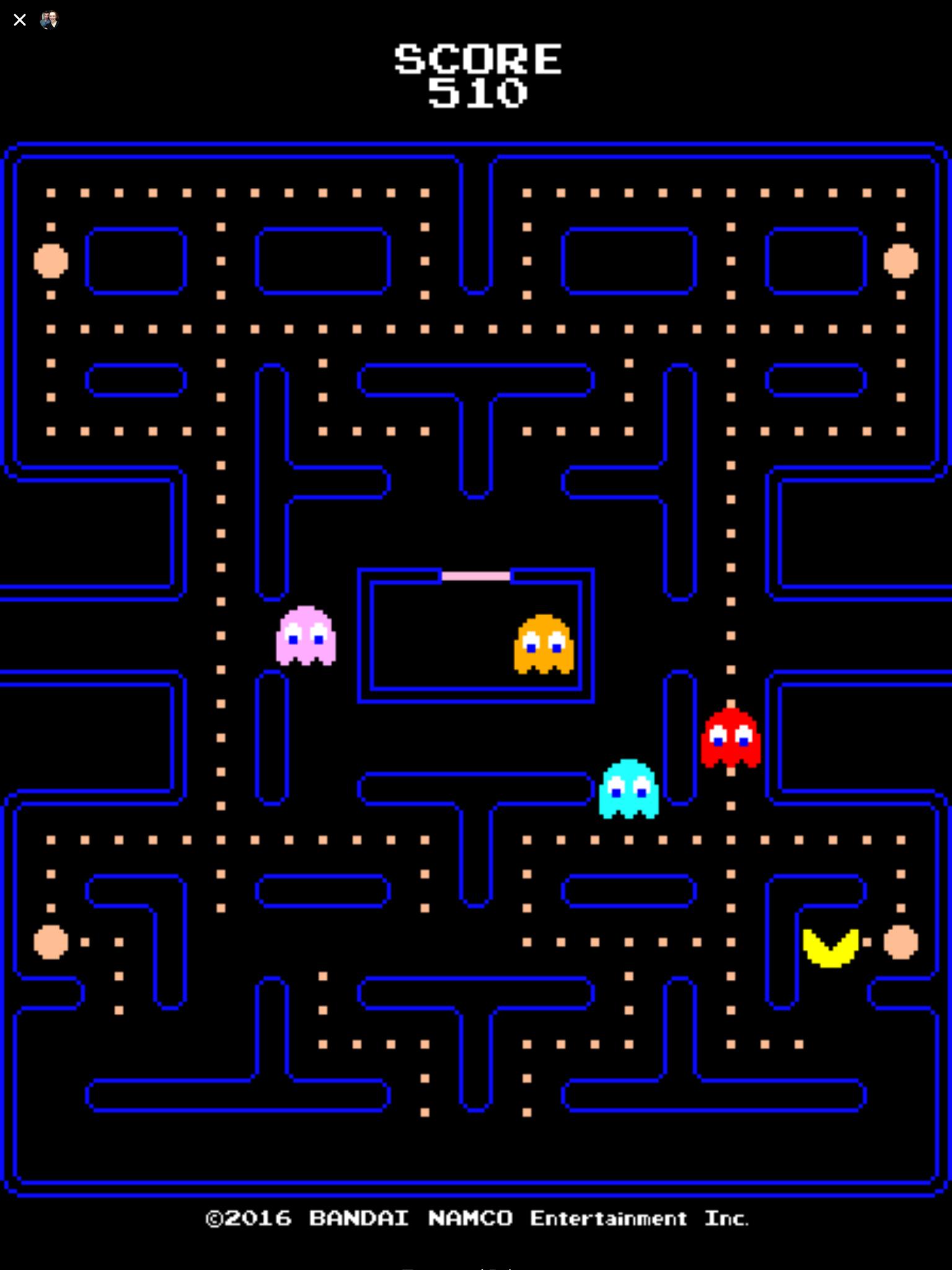 Pac-Man (Facebook) icon