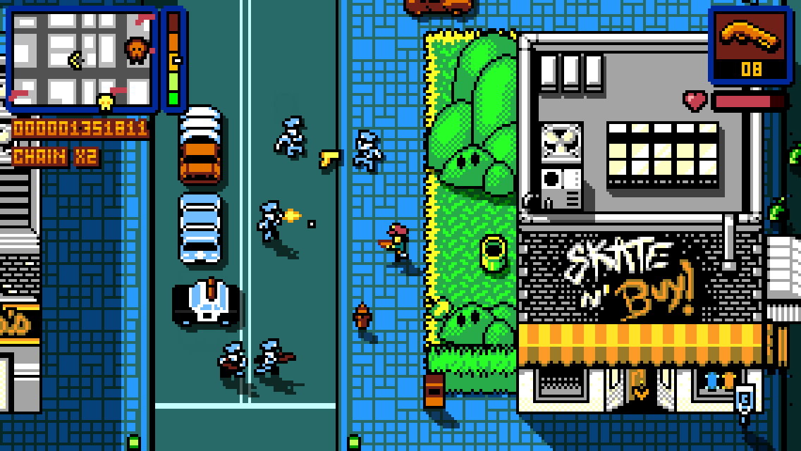 Surprise! Arcade GTA-like Retro City Rampage DX is out on the App Store