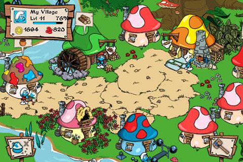 Freemium iPhone offering Smurfs' Village updated with magic shrubs, 'plant all' upgrade, new crops and themed items, and more
