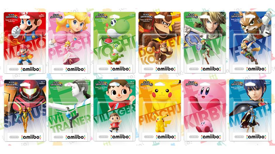 Nintendo has revealed the first set of Amiibo figures for 3DS