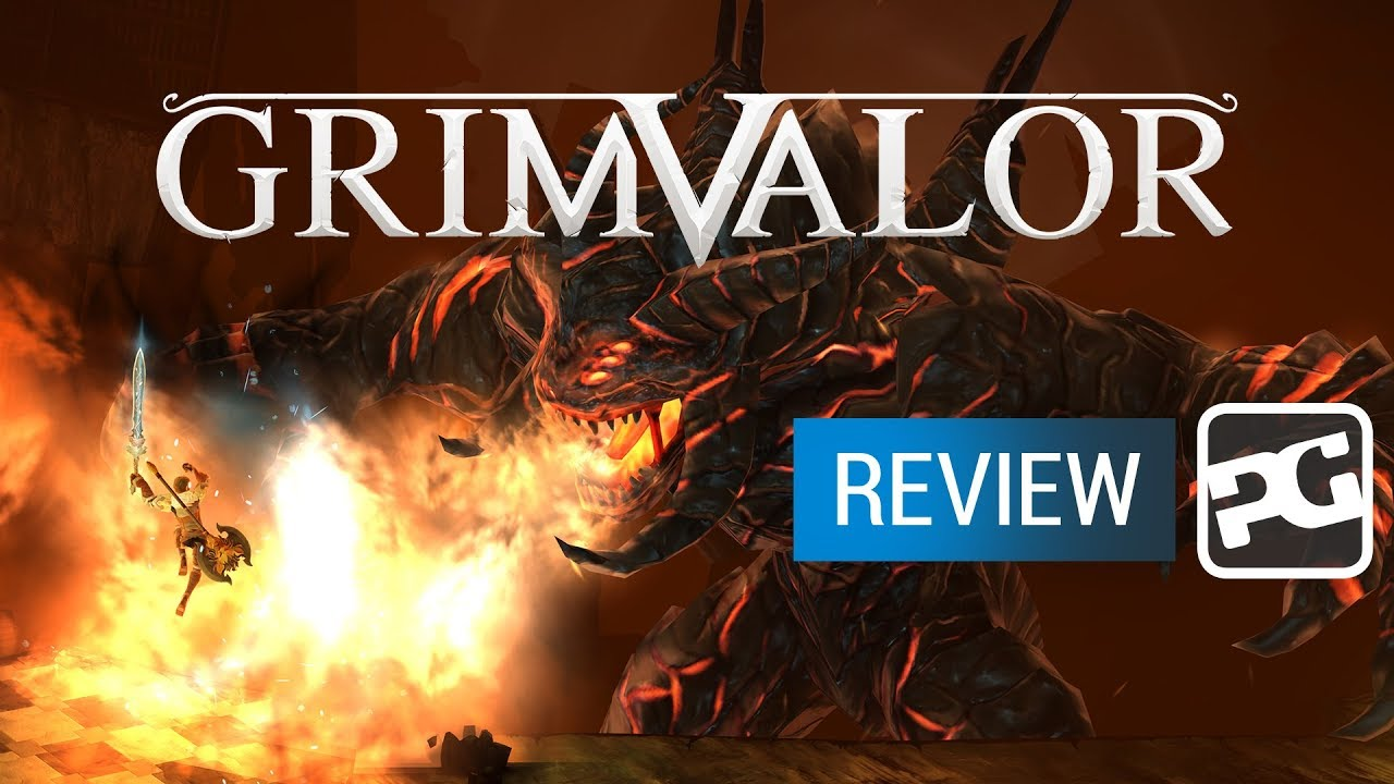 "Grimvalor video review - ""A love letter to Dark Souls and 16bit platformers"""