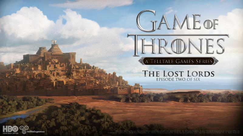 Tension runs high in the new trailer for the 2nd episode of Telltale's Game of Thrones series