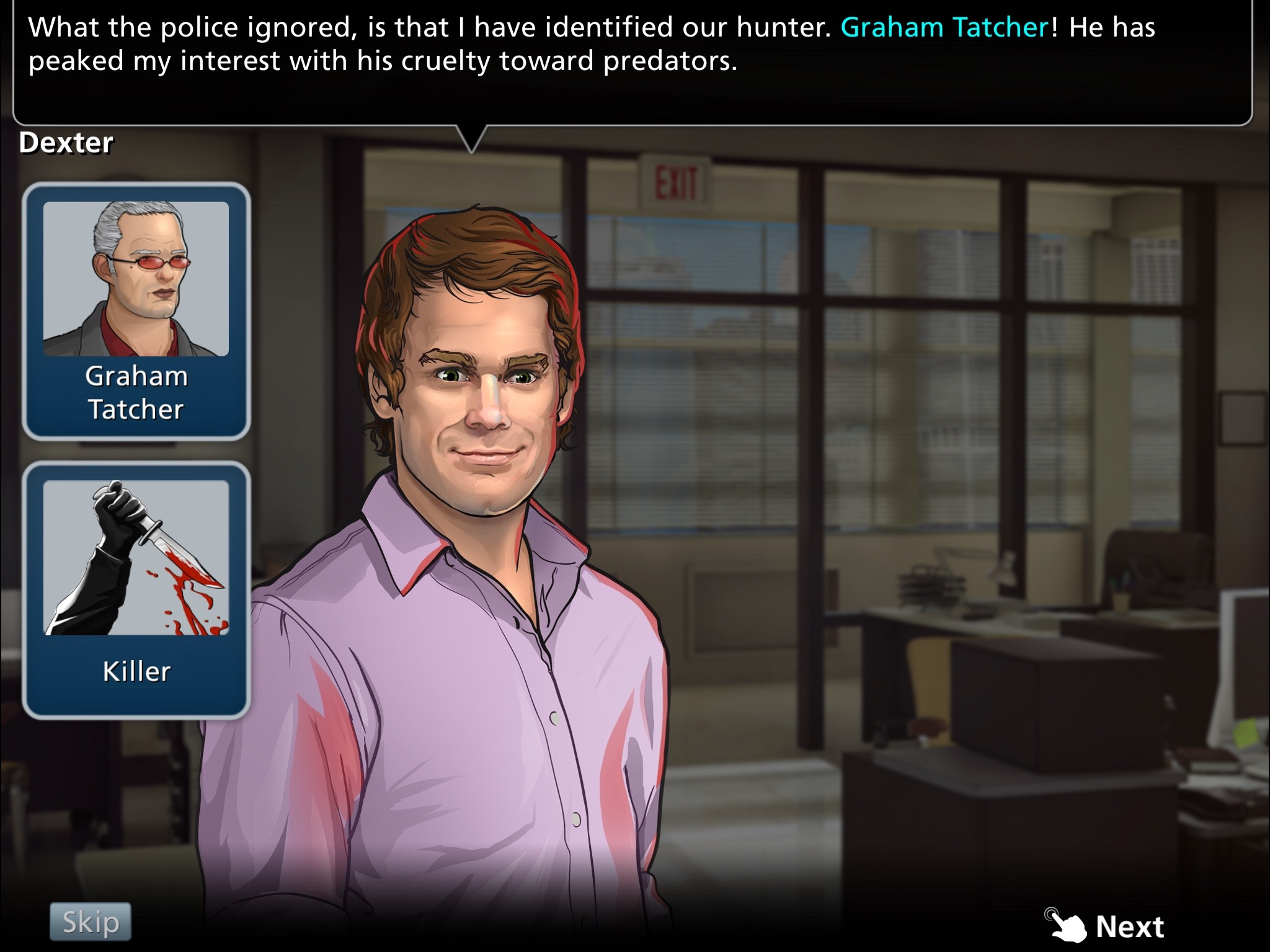 Dexter: Hidden Darkness - Simultaneously bland and unpalatably garish