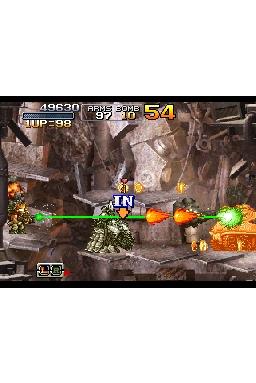 Metal Slug 7 DS fires up official website
