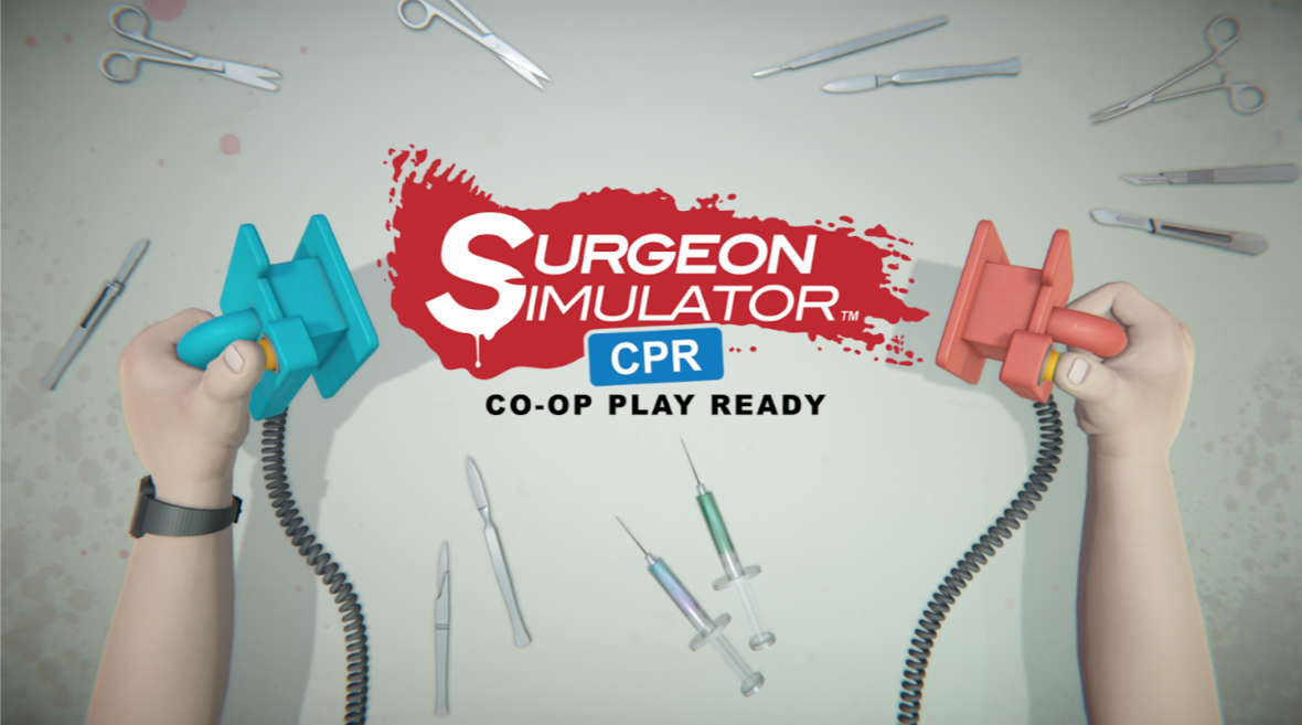 Surgeon Simulator shows off co-operative play in its gory new Switch trailer
