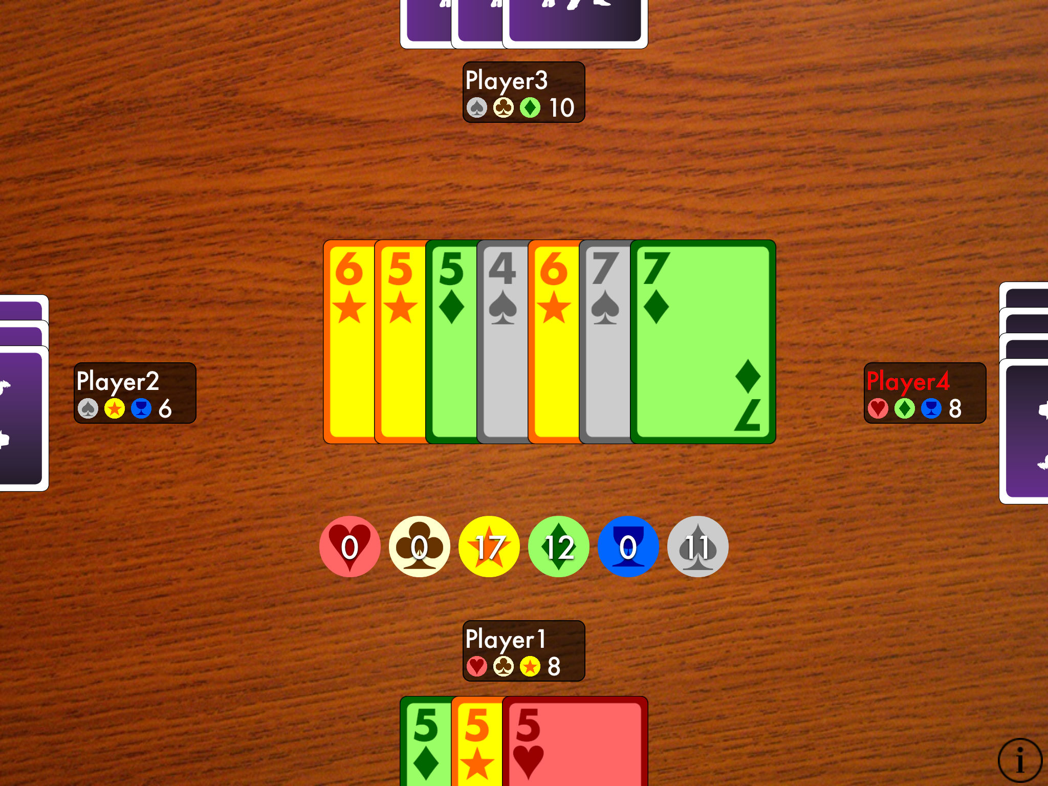 Trick-taking card game Cahoots is free for the first time for iPhone and iPad