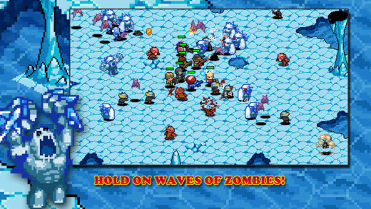 Out at midnight: Zombie Commando combines pixel slaughter with light tactics at a single touch