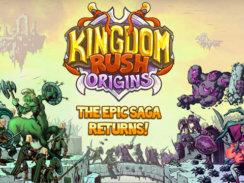[Update] Out at midnight: Kingdom Rush Origins takes the tower defence series back in time on iPad
