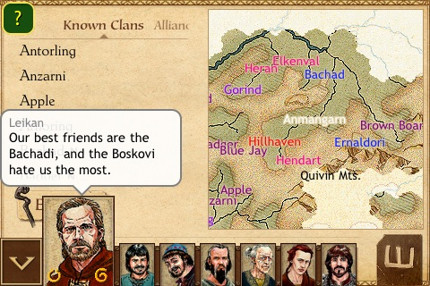 iPhone strategy title King of Dragon Pass reduced to £3.99/$5.99, iPad version currently in development