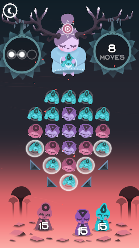 Ruya review - A calming and different match-stuff puzzler