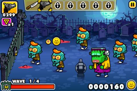Free iPhone game: Monster Mayhem