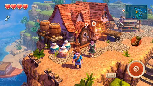 Oceanhorn gets even more 'Ultra Quality' graphics, cross-save with Apple TV