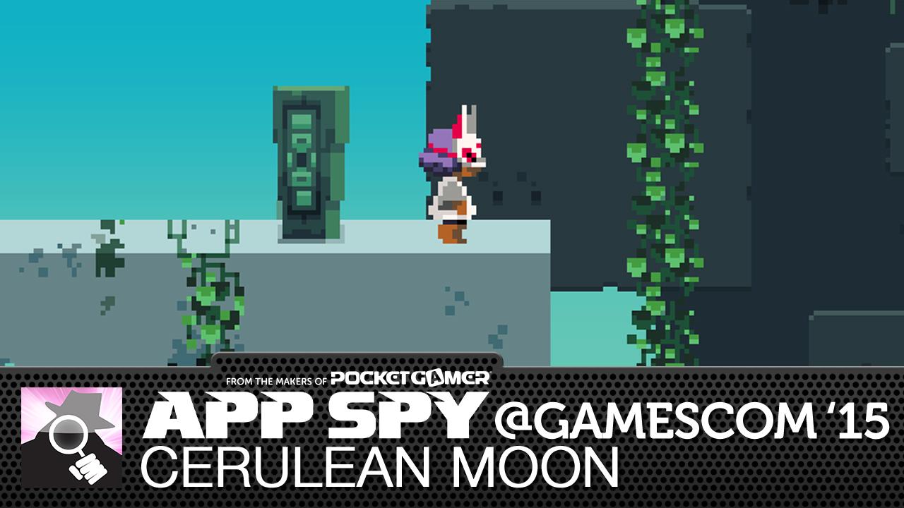 Gamescom2015: Cerulean Moon has you swiping through a pixel art platforming world
