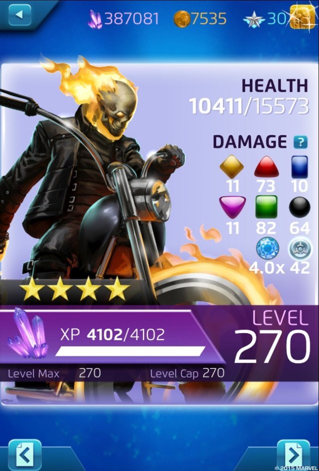 Ghost Rider invades Marvel Puzzle Quest with his own story event starting November 26th