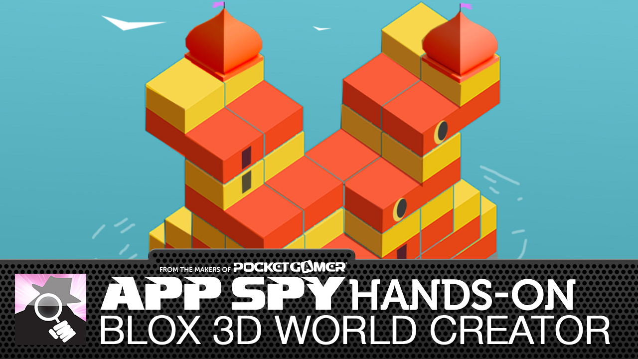 Blox 3D World Creator is part Minecraft, part piece of paper and pen