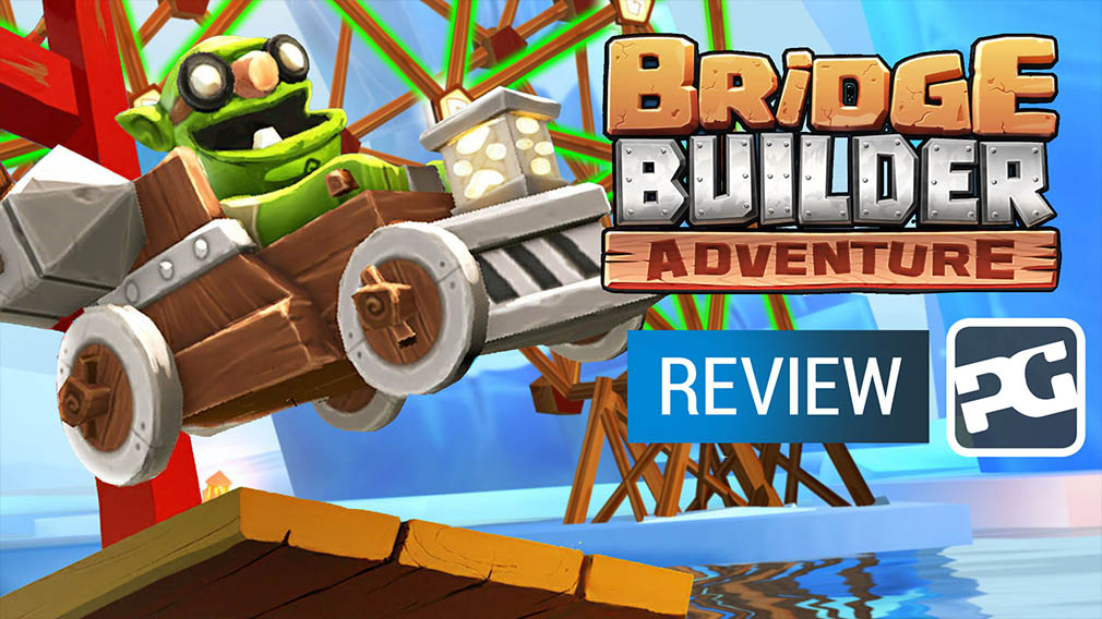 "Bridge Builder Adventure video review - ""Structurally sound"""