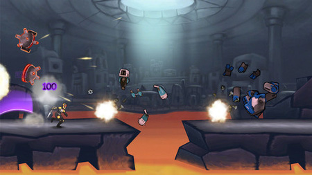 Run for your life - literally - in Monday Night Combat spin-off Outland Games