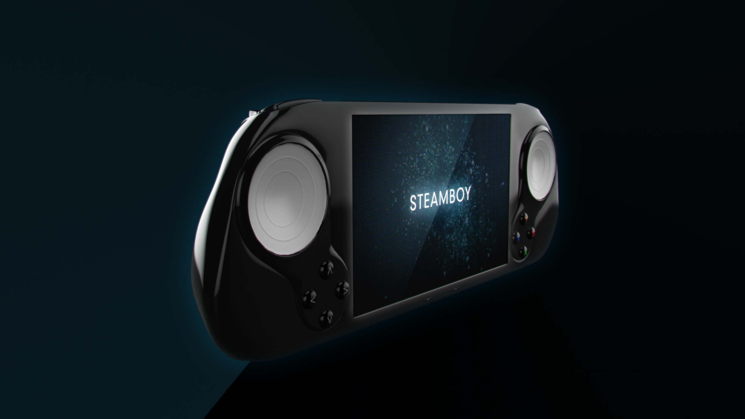 SteamBoy is a handheld device that lets you play your Steam games wherever you are