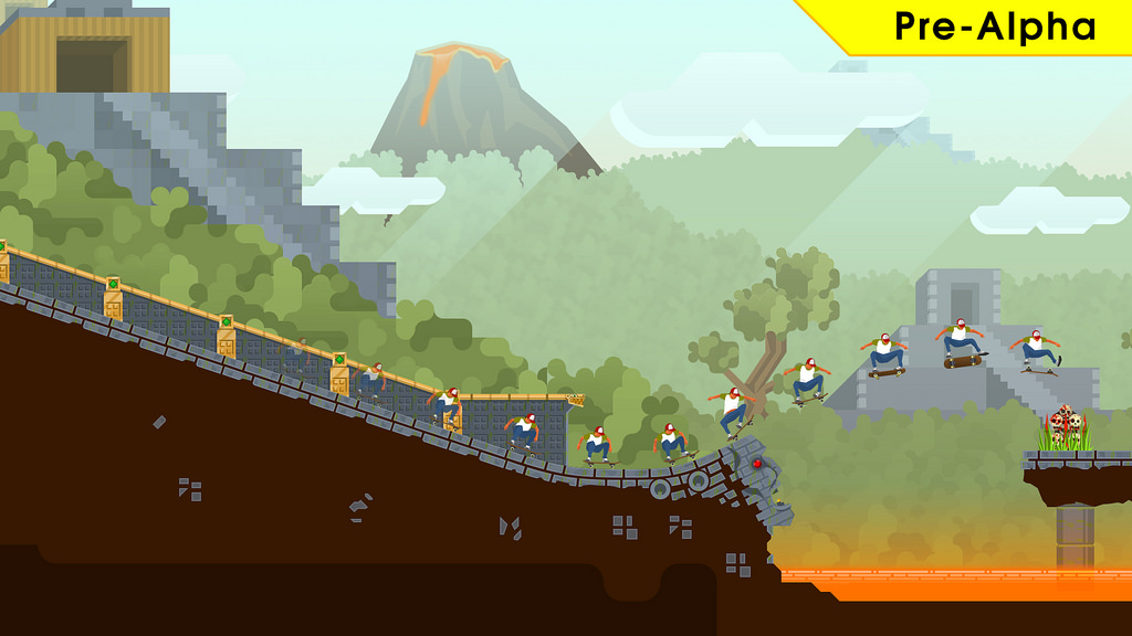 What a grind - OlliOlli 2: Welcome to Olliwood hits PS Vita next week