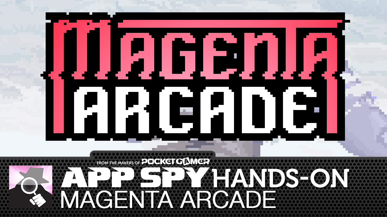 Magenta Arcade makes you a god with a gun for a finger