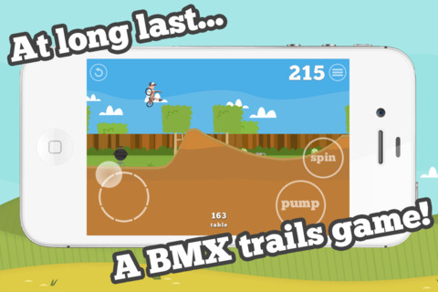 Try not to fall flat on your face in Pumped: BMX for iPhone and iPad