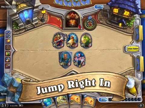 Blizzard's brilliant CCG and strategy mash-up Hearthstone: Heroes of Warcraft is in soft launch mode for iPad