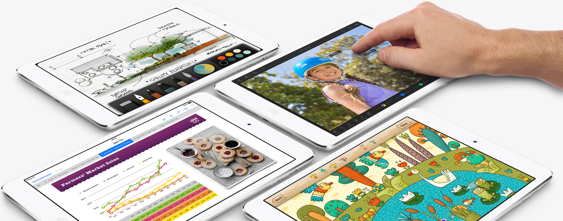 Apple's dinky iPad mini now sports a Retina display