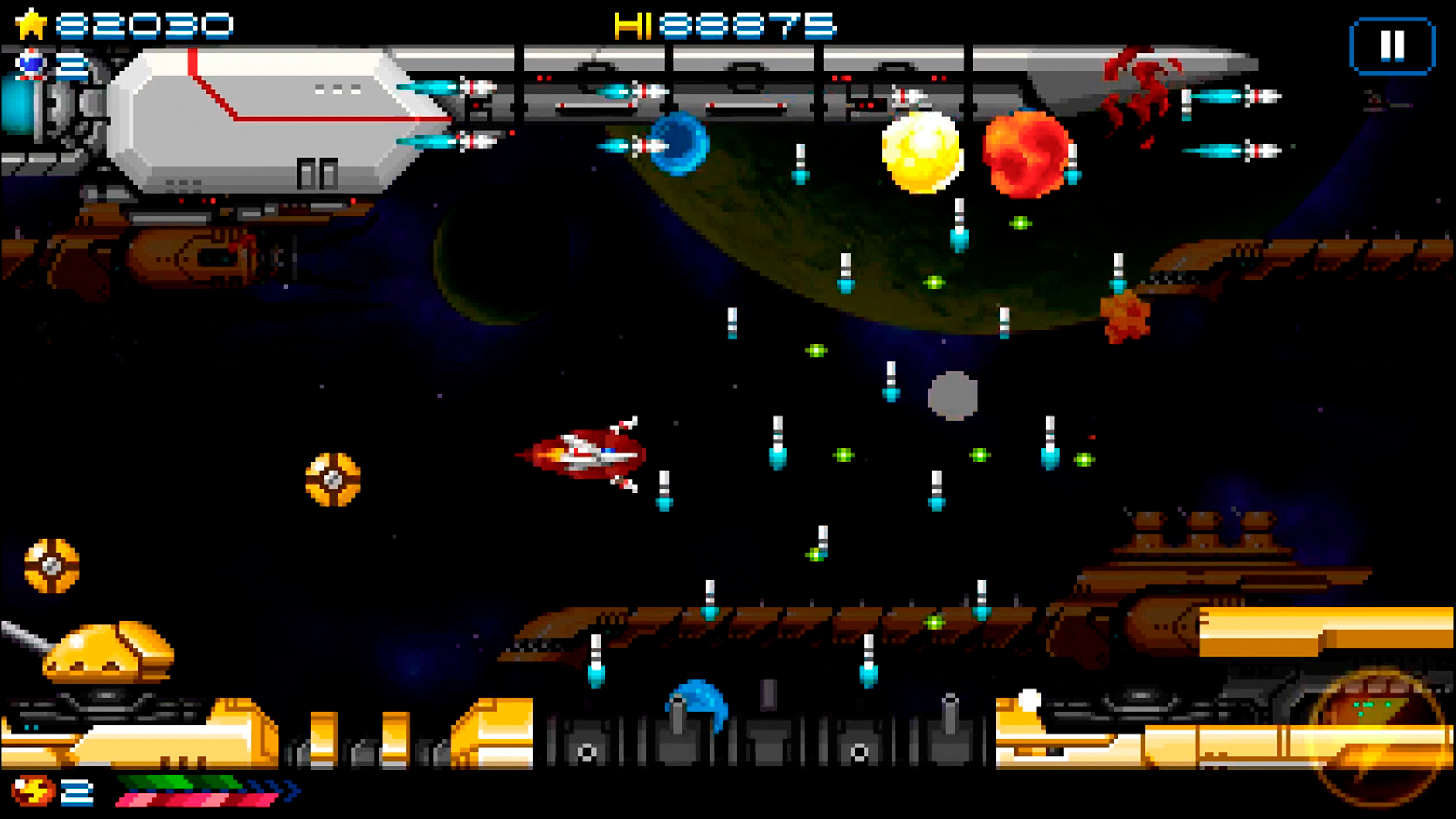 The popular space shmup Super Hydorah heads to iOS next month, but you can pre-order it right now
