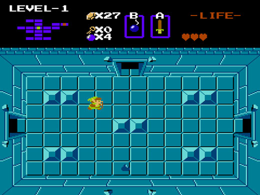 The Legend of Zelda NES (3DS Virtual Console)