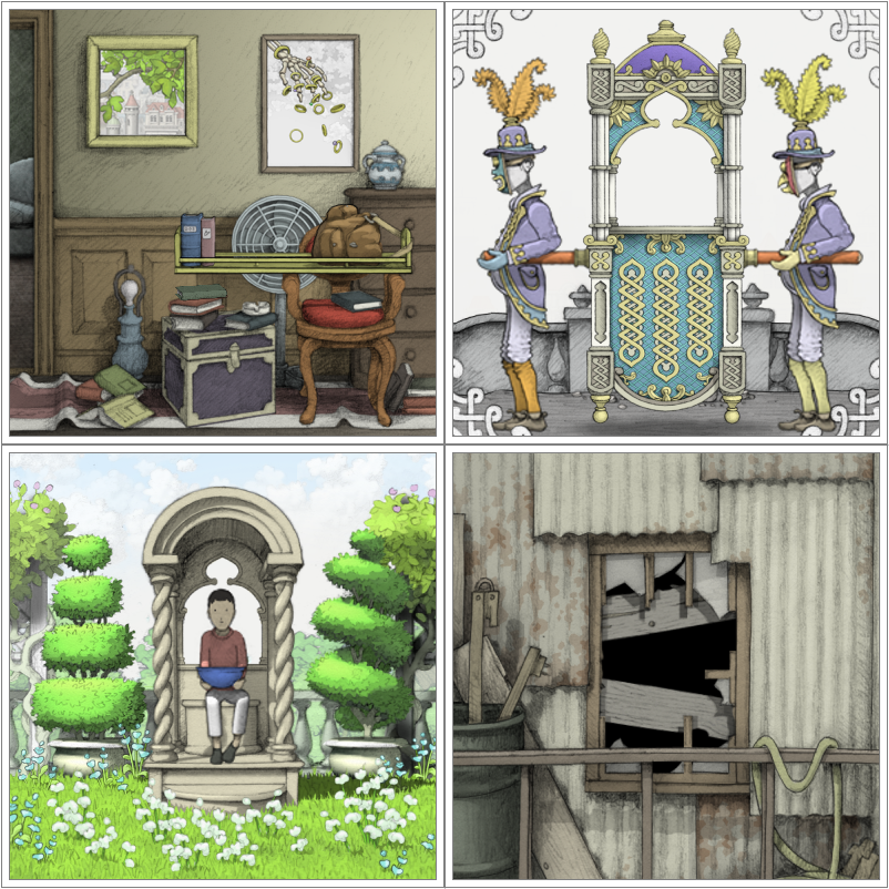 The beautifully illustrated puzzler, Gorogoa, gets a reveal trailer and it's definitely looking good