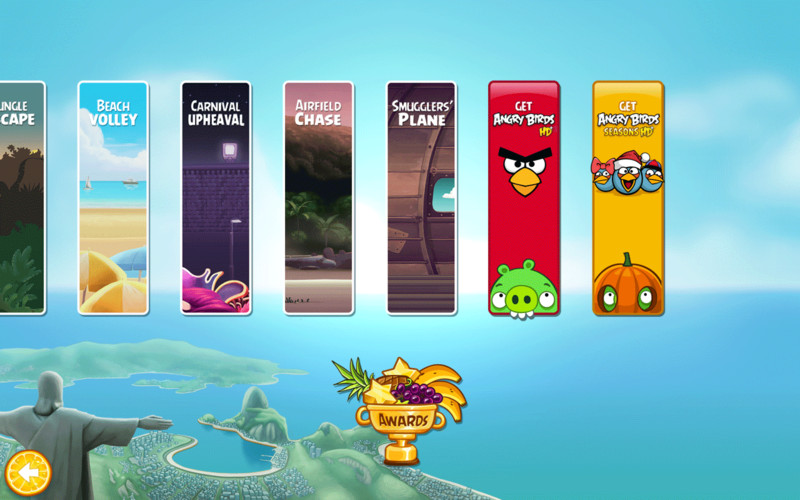 Angry Birds Rio heads to the treetops in Timber Tumble update