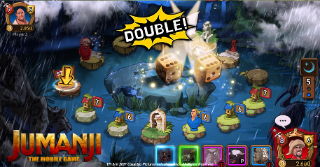 JUMANJI's gotten its own competitive iOS/Android game to celebrate the release of the film
