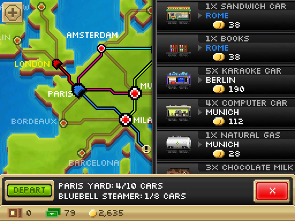 NimbleBit announces the release date for Pocket Trains over the tannoy
